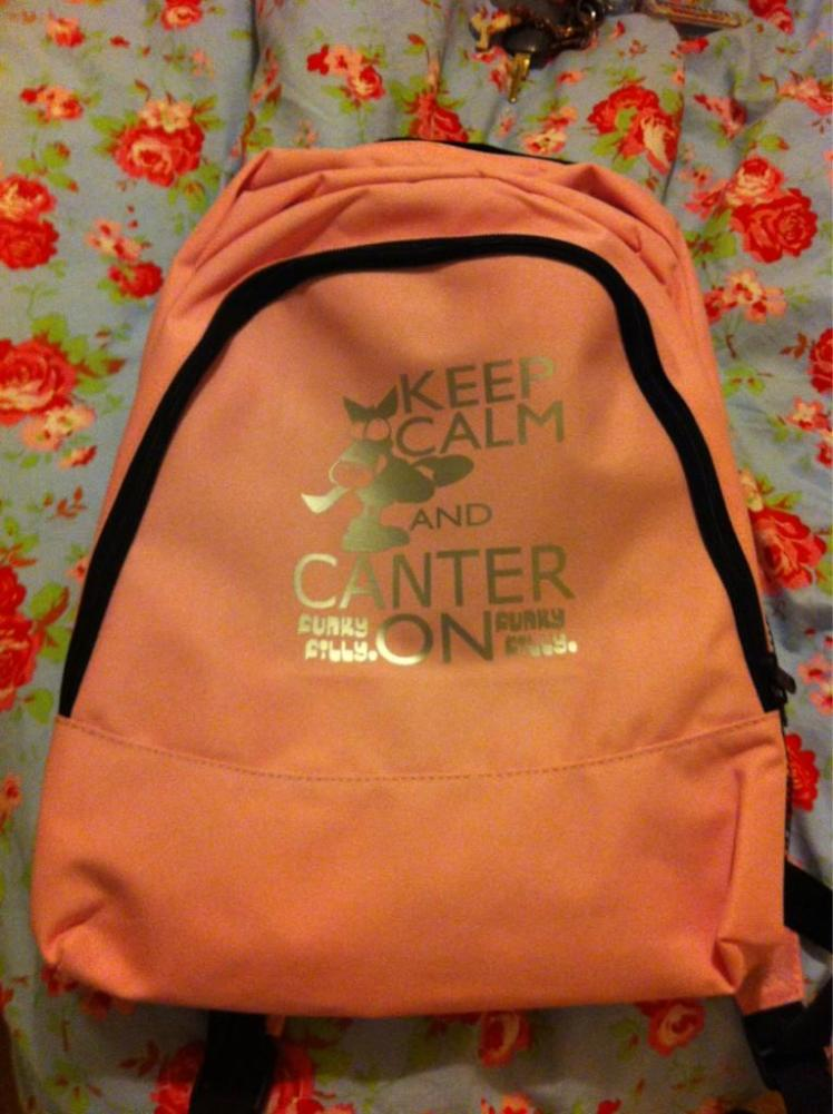 Aug 21st @EmmaCorten: Another for you @adrianmasters84 - my daughter's new school bag!