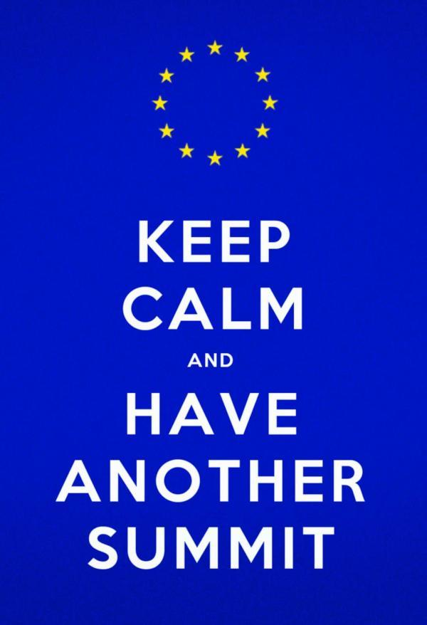 Nov 23rd @tycornel: @adrianmasters84 you didn't see this one coming!! RT: Keep calm and have another summit #euco