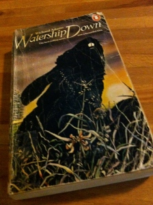 My battered copy of Watership Down