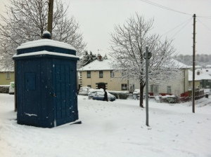 Grade II listed police box, Newport South Wales