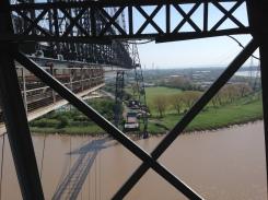 Newport Transporter Bridge nearly there!