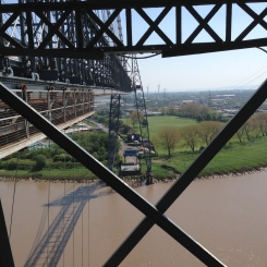 Newport Transporter Bridge nearly there!