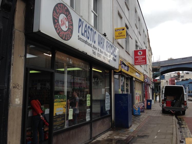 Plastic Wax records, Bristol