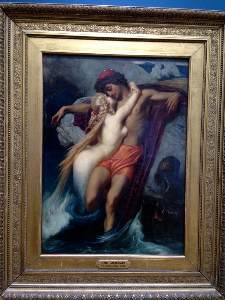 The Siren by Frederick Leighton