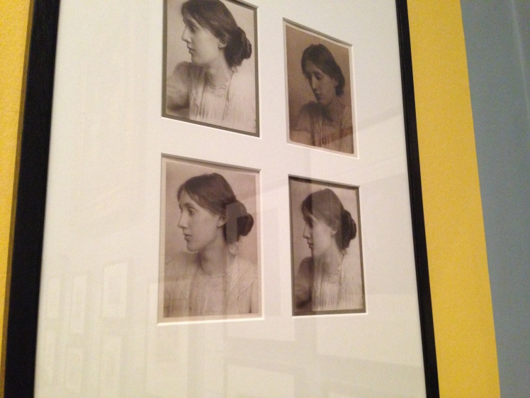 Four photographs of Virginia Woolf by George Charles Beresford, 1902