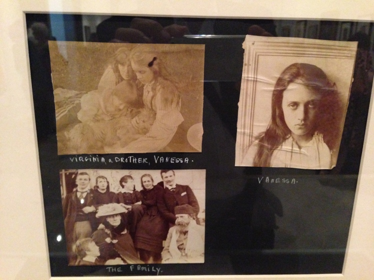 Selection of family photos. A thoroughly annoyed looking Vanessa Stephen is top right.