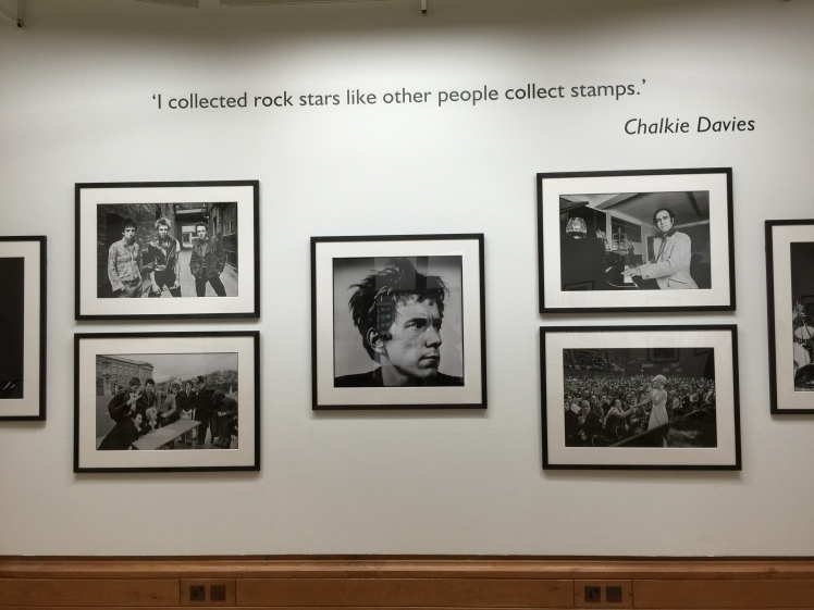 Chalkie White exhibition wall