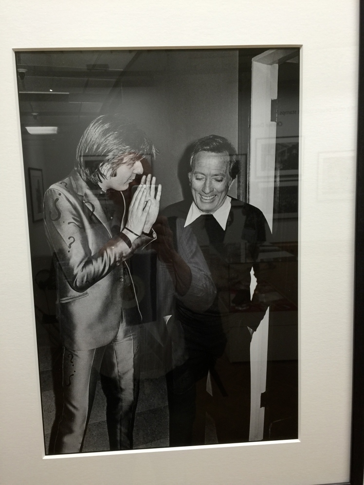 Nick Lowe and Andy Williams by Chalkie White