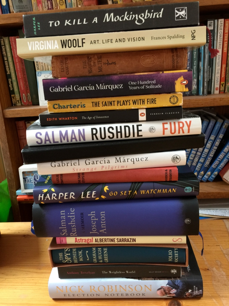 Books read July August 2015
