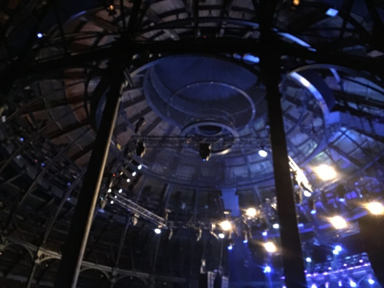 Ceiling of the Roundhouse, Camden