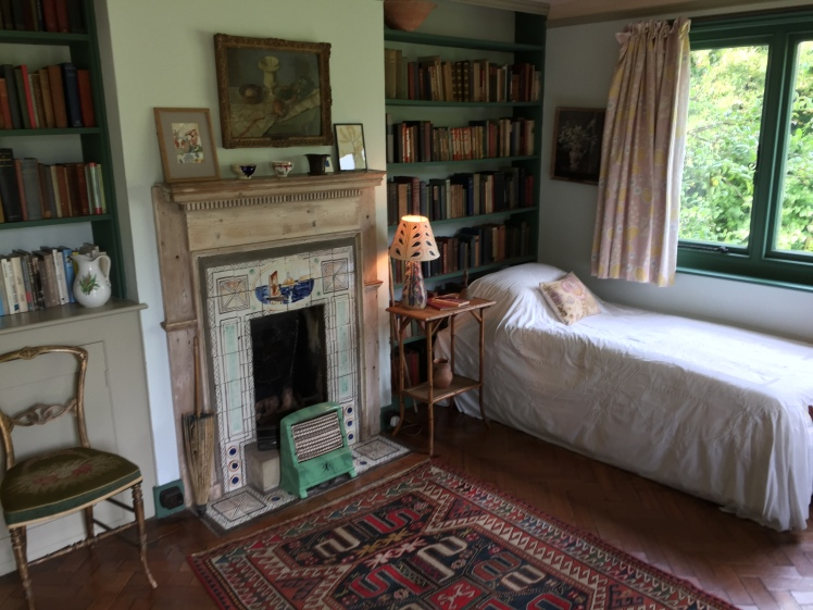 Virginia Woolf's room at Monk's House, Rodmell, Sussex.