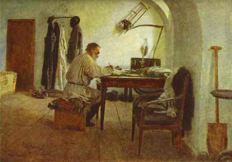 Leo Tolstoy in His Study, Ilya Repin Photo by Tschäff used under Creative Commons licence https://www.flickr.com/photos/tschaff/
