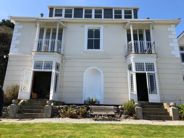 Talland House, St. Ives, Cornwall. My photo