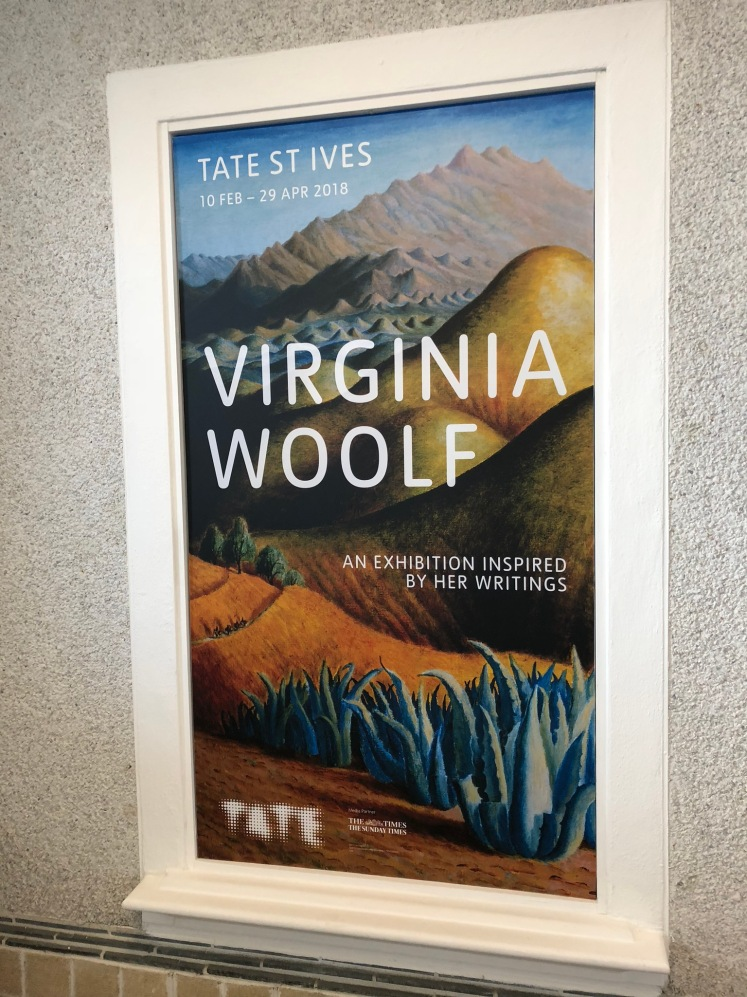 Tate St Ives exhibition poster. My photo