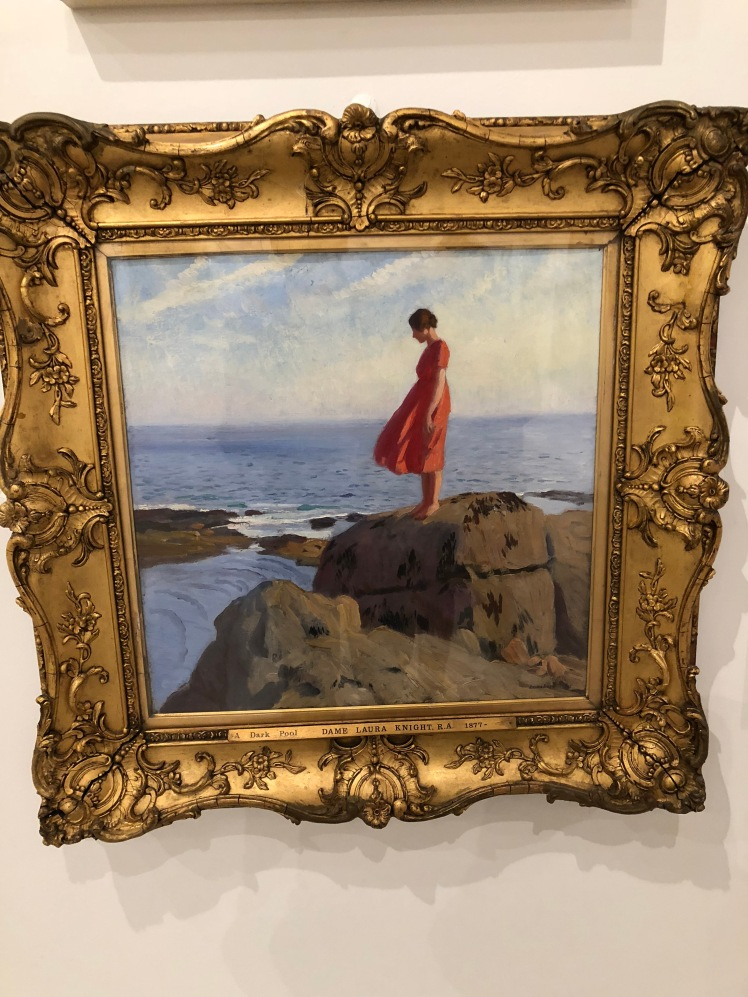The Dark Pool by Dame Laura Knight. My photo